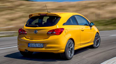 Vauxhall Corsa GSi - rear tracking