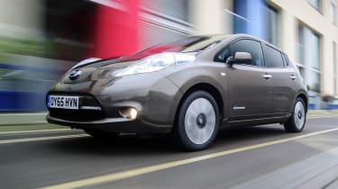 Nissan Leaf 60kWh - front action