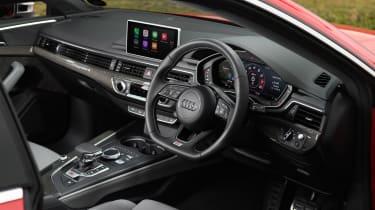 Audi S5 Coupe - interior