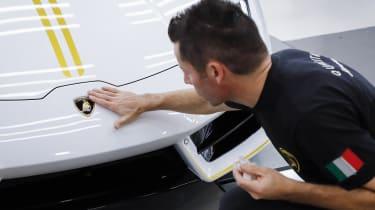 Pope Francis Lamborghini Huracan engineer
