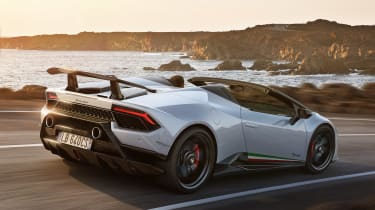 Lamborghini Huracan Performante Spyder - rear
