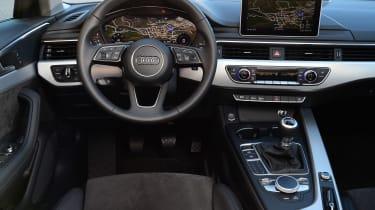 New Audi A4 2016 steering wheel