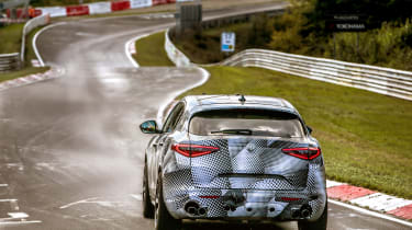 Alfa Romeo Stelvio Nurburgring 15
