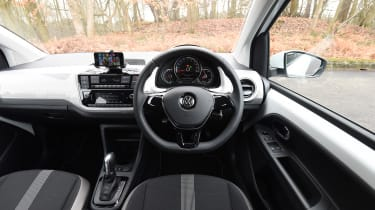 Volkswagen e-up! electric car 2017 - interior