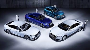 Audi PHEV model range