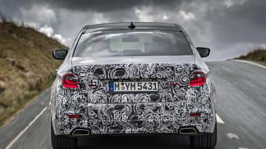 BMW 5 Series prototype 2016 - rear tracking