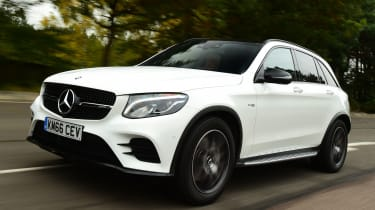 Mercedes-AMG GLC 43 - front tracking