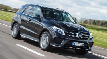Mercedes GLE 350d - front