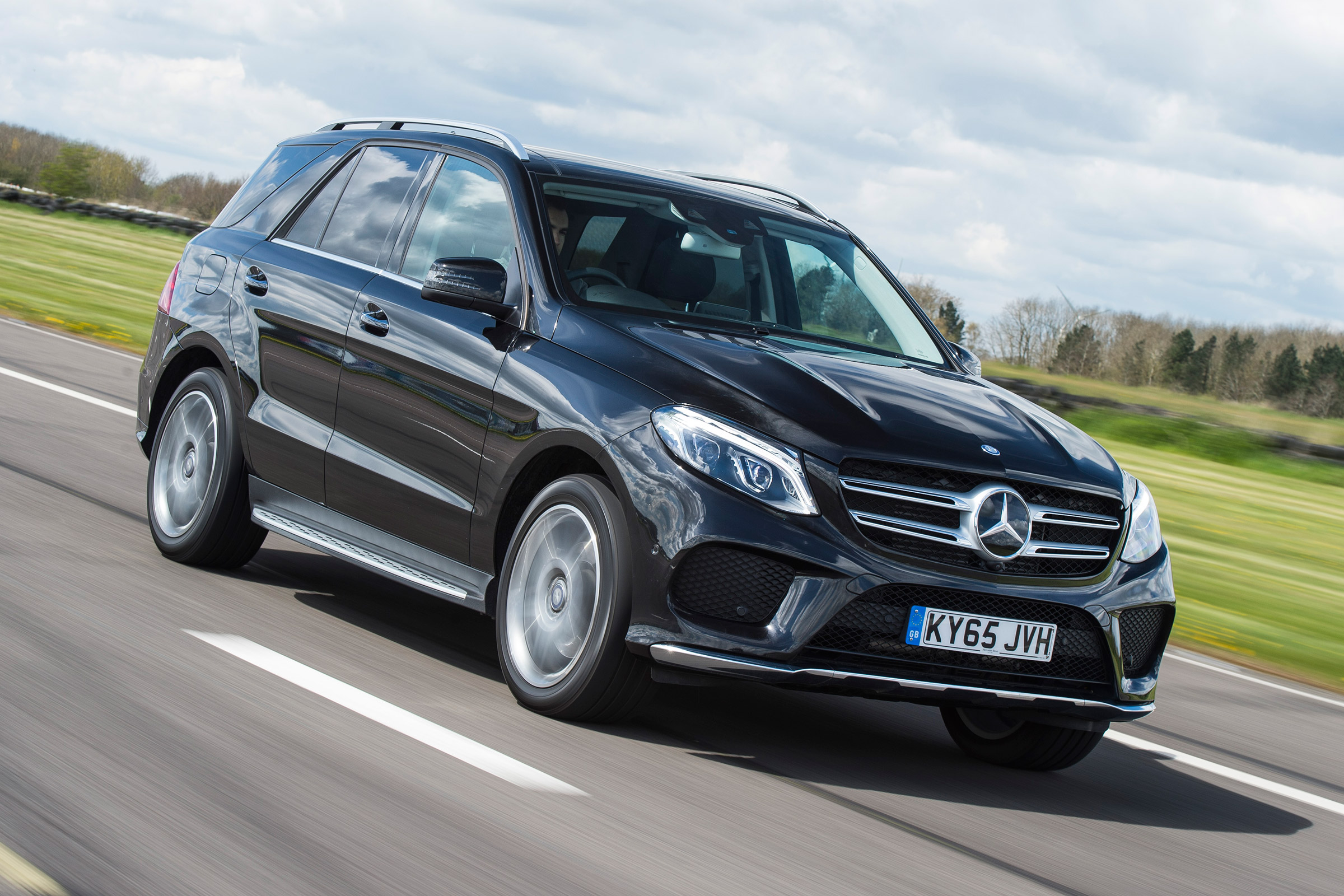 Mercedes Gle 350d 2016 Review Auto Express