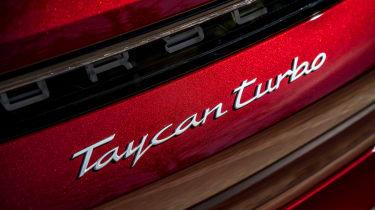 Porsche Taycan Cross Turismo - Turbo badge