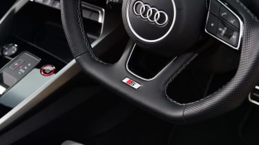 Audi S3 long termer - first report steering wheel detail