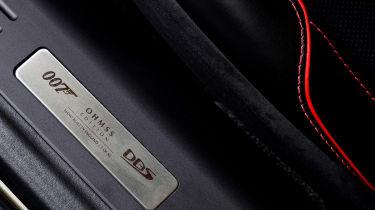 Aston Martin DBS Superleggera On Her Majesty's Secret Service - badge