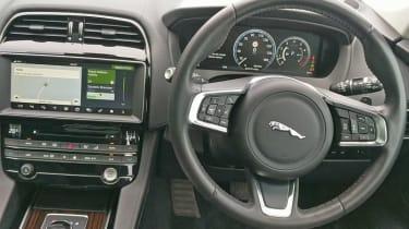 Jaguar F-Pace Portfolio interior