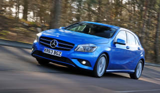 Mercedes A180 CDI ECO front tracking