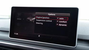 Audi A4 long-term test - drive modes