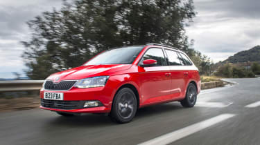 This is the new Skoda Fabia Estate.