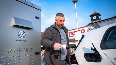 VW Tesco Charging