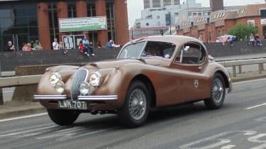 Coventry Motofest 2016 - Jaguar coupe