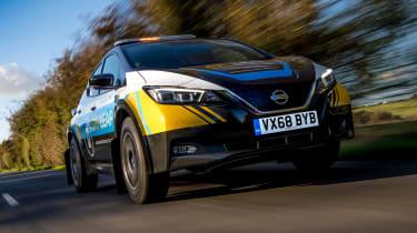 Nissan Re-Leaf - front