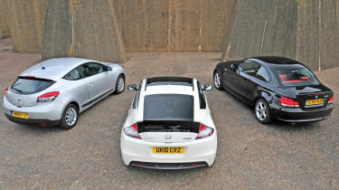 Honda CR-Z vs. rivals