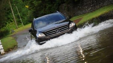 Mercedes ML 250 Bluetec Sport detail