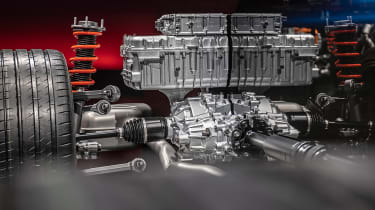 Mercedes AMG PHEV - engine