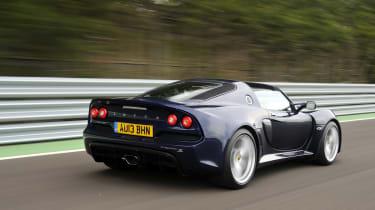Lotus Exige S Roadster rear action
