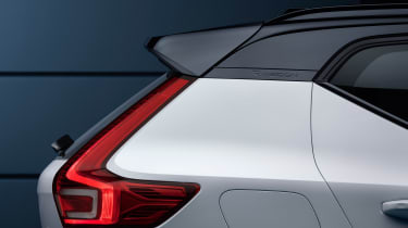 Volvo XC40 - rear profile