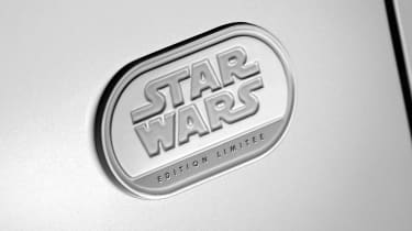 Renault Zoe Star Wars special edition - badge