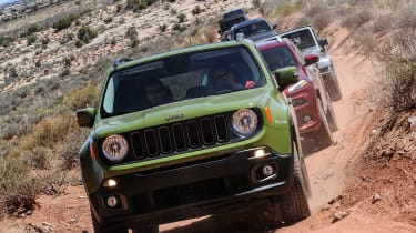 75 years of Jeep - Renegade front