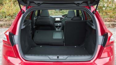 Peugeot 308 GTi boot