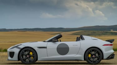 <span>Carbon ceramic brakes have been fitted as standard to the Project 7.</span>