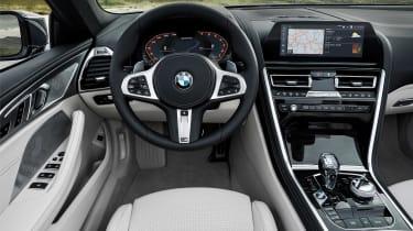 BMW 8 Series Convertible - cabin