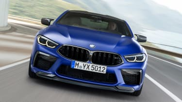 BMW M8 Competition - full front