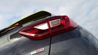 Kia Stonic - rear badge