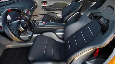 Kia GT4 Stinger concept leaked interior