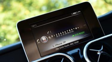 Mercedes X 250 d - infotainment