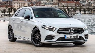 Mercedes A-Class white
