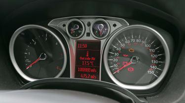 Used Ford Kuga - dials