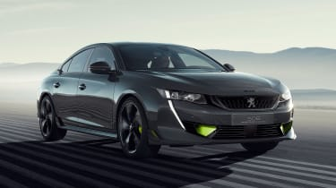 Peugeot 508 Sport Engineered concept - front