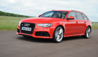 Audi RS6 front three quarters