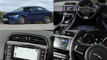 Jaguar InControl Touch infotainment system - test car: Jaguar XE