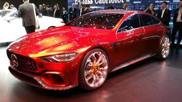 Mercedes-AMG GT Concept Geneva - front
