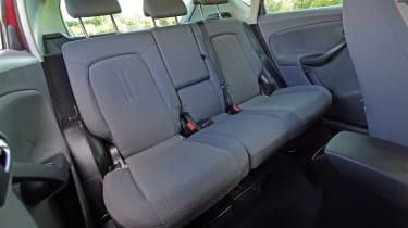Used SEAT Altea - rear seats