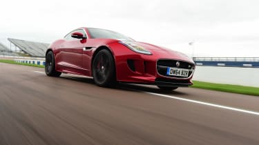 Jaguar F-Type R AWD Coupe -  front cornering