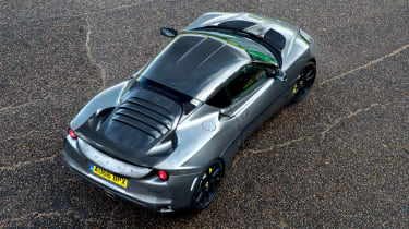 Lotus Evora 410 - above rear