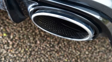 Audi RS6 - exhaust