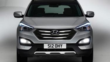 Used Hyundai Santa Fe - full front