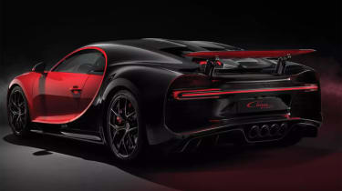 2018 Bugatti Chiron-Sport rear