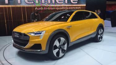Audi h-tron concept - front three quarter